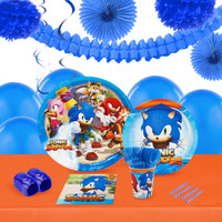 Sonic Boom 16 Guest Tableware & Deco Kit