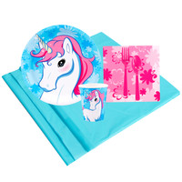 Enchanted Unicorn 8 Guest Party Pack