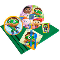 Super Why 24 Guest Party Pack