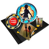 Secret Agent 24 Guest Party Pack