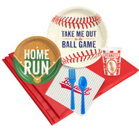 Baseball Time 24 Guest Party Pack