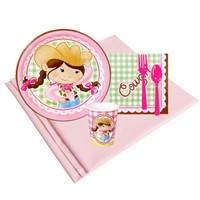 Pink Cowgirl 8 Guest Party Pack