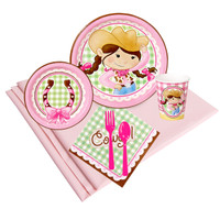 Pink Cowgirl 24 Guest Party Pack