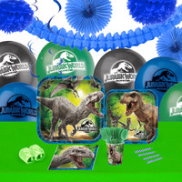 Jurassic World 16 Guest Tableware & Deco Kit
