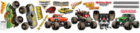Monster Jam Small Wall Decal