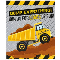Construction Party Invitations (8)