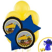 Construction Party Balloon Bouquet