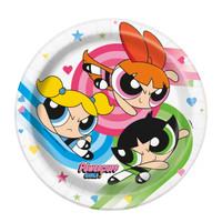 Power Puff Girls Dessert Plates (8)