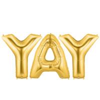 Jumbo Gold Foil-YAY