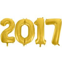Jumbo Gold Foil Balloons-2017