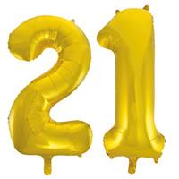 Jumbo Gold Foil Balloons-21