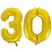 Jumbo Gold Foil Balloons-30