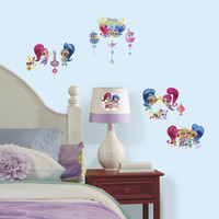 Shimmer & Shine Wall Decals With Glitter