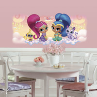 Shimmer & Shine Burst Giant Wall Decal