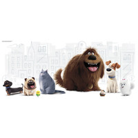Secret Life of Pets Giant Wall Graphic