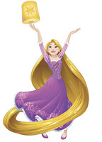 Disney Sparkling Rapunzel Giant Wall Decals