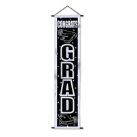 Congrats Grad Velvet-Lame Door Panel