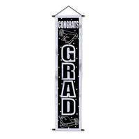 Congrats Grad Velvet-Lame Door Panel