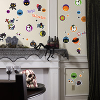Halloween Trick or Treat Home Room Decor Removable Wall/Locker/Door/Decal Kids/Children