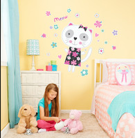Cat Giant Wall Decal