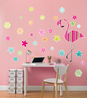 Flamingo Giant Wall Decal