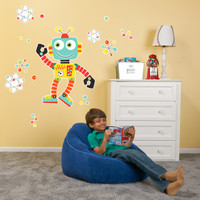 Robot Giant Wall Decal