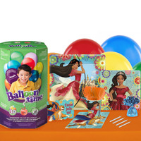 Disney Elena 16 Guest Party Pack with Helium Kit