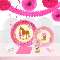 Western Cowgirl 16 Guest Party Pack 2