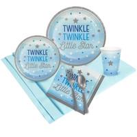 Twinkle Twinkle Little Star Blue 16 Guest Party Pack