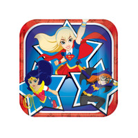 DC Super Hero Girls Dessert Plates
