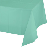 Mint Plastic Tablecover