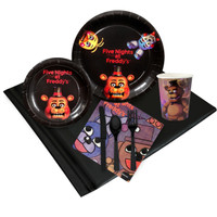 Five Nights at Freddy's 16 Guest Party Pack 2 3