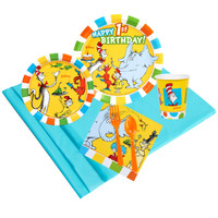 Dr Seuss 1st Birthday 16 Guest Party Pack 2