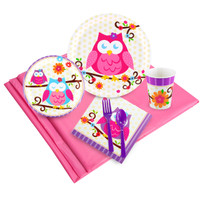 Owl Blossom Party Pack for 16