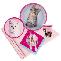 Rachaelhale Glamour Cats Party Pack for 16