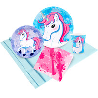 Enchanted Unicorn 16 Guest Party Pack