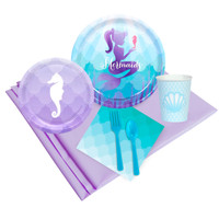 Mermaids Under The Sea 16 Guest Party Pack