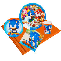 Sonic Boom 16 Guest Party Pack