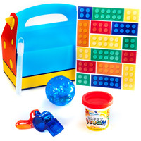 Building Block Filled Favor Box