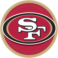 San Francisco 49ers Dinner Plates (8)