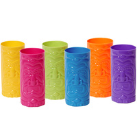 Plastic Tiki Cup Assortment (12)