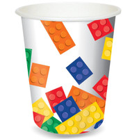 Building Block Party 9 oz. Paper Cups