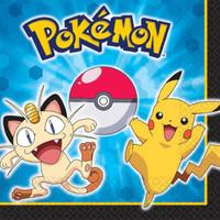 Pokemon Lunch Napkins