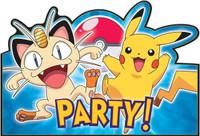 Pokemon Invitation Postcards