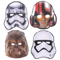 Star Wars VII Paper Masks