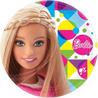 Barbie Dinner Plates