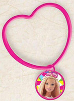 Barbie Heart Bracelet with Charm