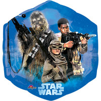 Star Wars VII Shape Jumbo Foil Balloon