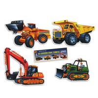 Construction Vehicle Cutouts