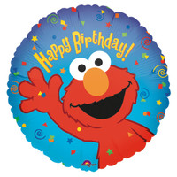 Elmo Loves You Foil Balloon